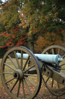 Kanon bij het Shiloh slagveld