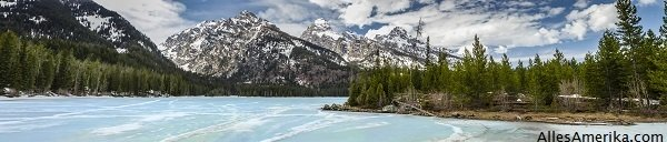Taggart Lake in Grand Teton National Park