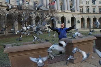 Lol tijdens toer door Washington DC
