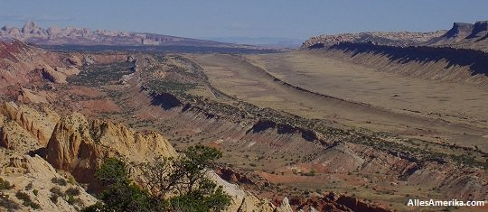 Waterpocket Fold in Capitol Reef National Park