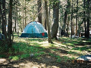 Tent in Yosemite NP
