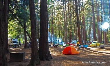 Yosemite National Park: overnachten (hotels en campings)