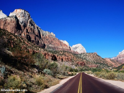 Zion National Park weg